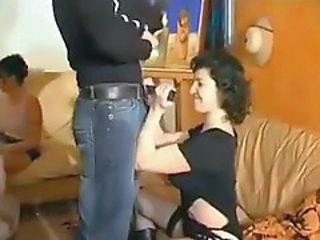 Amateur French couples swapping wives and screwing