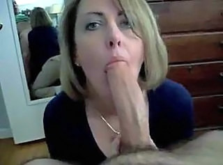 Hot wife sucks his cock and swallows