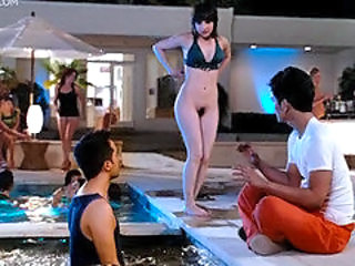 Sexiest Asian chick shows her boobs in Harold and Kumar