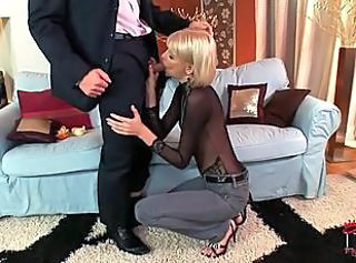 Anal Session With Elegant Blonde