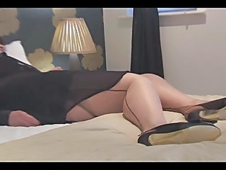 Busty Mature In Seamed Nylons Fi...