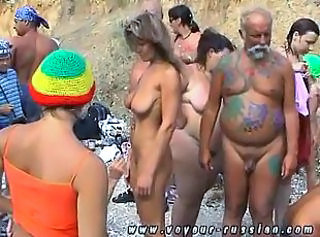 Nude Bodyart Outdoor Softcore Party