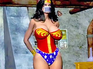 Hentai Bigtits Wonder Woman Tied Up