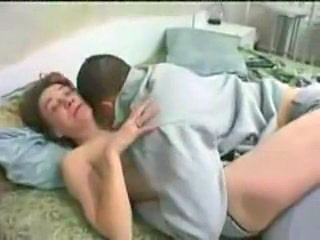 Homemade sex with drunk milf