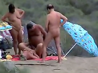 Public Beach - Mature Sex