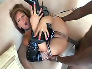 Sexy slut Tory Lane face fucks cock and gets her asshole ravaged by a hot rod