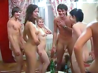 Girls gettin rammed at party
