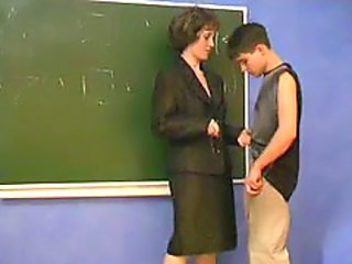 Mature teacher seduced young boy
