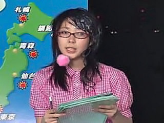 "Japanese Female Announcer Receives Cum Facials"" target=""_blank"