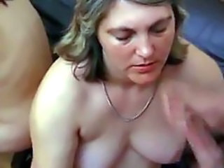 Mom teaching daughter how to suck a long penis