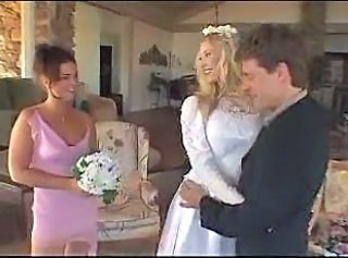 Bride and Bridesmaids' Anal Afternoon