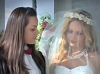 Lesbian wedding and the wedding night