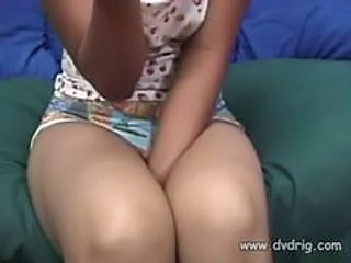 Little Vietnamese Spinner Mei Yu Brings Two Guy In He...