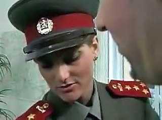 Kgb Military Girl Fucks Recruit
