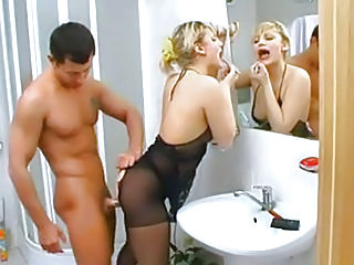 Hot Russian wife fucked while...