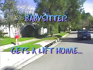 Teen Babysitter Gets A Lift Home