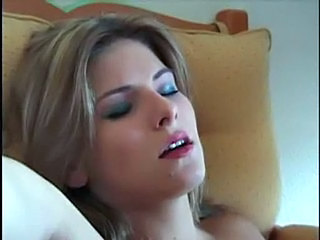 Insanely hot girl fucked in hotel room with a view