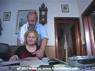 Italian Incest Blond teen fucked by daddy
