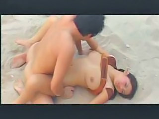 Busty Thai Natt Beach Sex