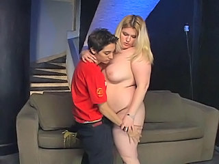 Fat Teen Fucked By A Skinny Lesb...