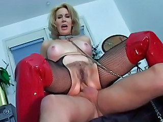 Hot momma Erica Lauren is riding her boyfriend's firm stick like a hot cowgirl