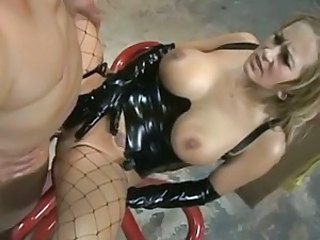 Slut Trina Michales get dicked down with a thick cock, and takes it all.