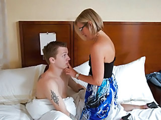 Mrs. Suz is on vacation with the family and her son's friend, Patrick. Mrs. Suz has to wake him up so he can get to the continental breakfast with everyone else and enjoy the day. But she can't help h