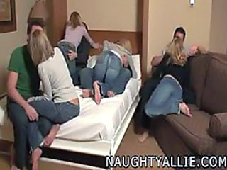 very hot orgy- real amateur
