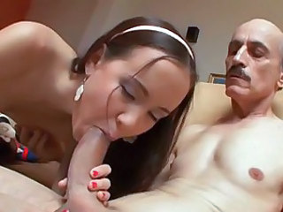 Super sexy Amai Liu can sure work a cock woth her mouth