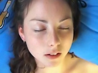 Watch her face as she masturbates