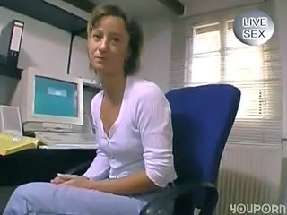 German amateur gives a blowjob