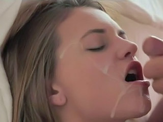 luxury blonde making luxury blowjob