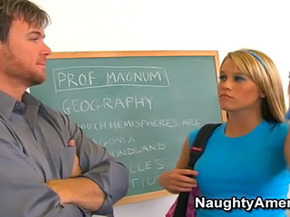 Sweet Schoolgirl Opens Pussy For Hot Teacher