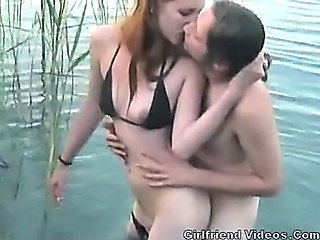 Swingers Vacation Threesome