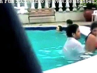 Indian Couple Fucking In Swimming Pool Shoot With Hidden Cam
