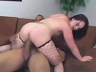 Burly Black Man Fucks Milky White Girl