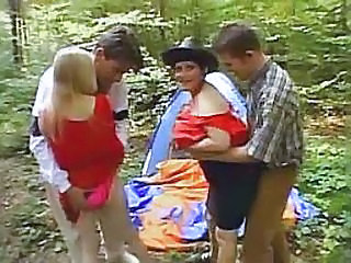Family Fun In The Forest