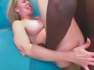 Blonde Mom Enjoys A Big Black Cock