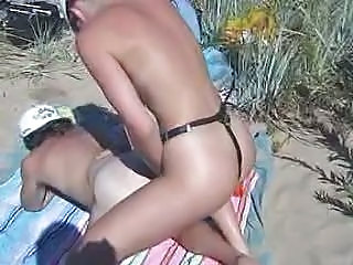 Strap-on Beach Fun