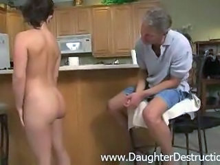 old daddy likes to abuse the ...