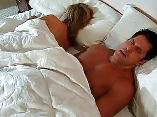 Romantic action in bed