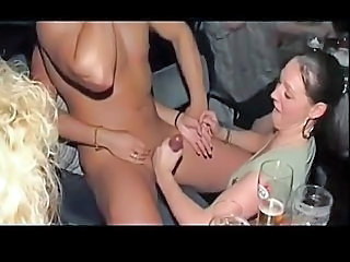 Girls sucking cocks at hen party! - Part 7
