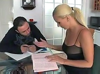 Hot European Blonde With Sweet Breasts Reaches For Desired Dick