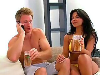Picking Up a Big Ass Latina At The Beach To Fuck Her Wet Pussy