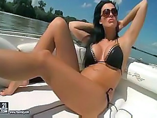 Aletta Ocean. Getting It On, On Board