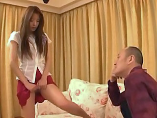 Skinny And Beautiful Asian Cutie Gets Pounded By A Horny Guy