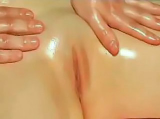 Guy massages perfect body of sexy chick and fucks her hard eventually!