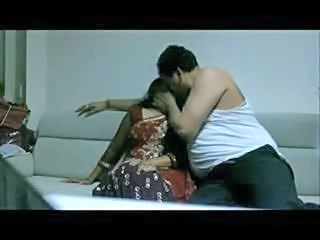 Boss enjoy And fucking with her indian Aunty
