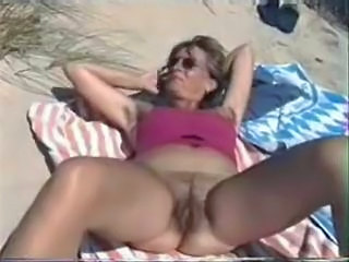 Hairy on the Beach
