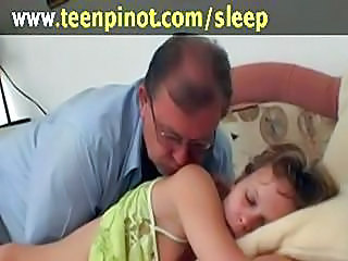 Girl fucked while sleeping...